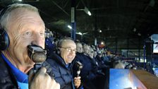 Image for Chris Tarrant commentates at Luton Town FC