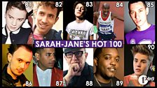 81 - 90 in the Hot 100 List