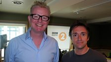 Image for Richard Hammond and Chris Evans on judging 500 WORDS