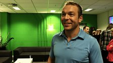 Image for Chris Hoy looks back at the London Olympics