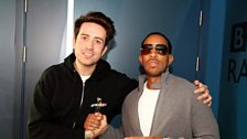 Image for Ludacris in the studio with Grimmy