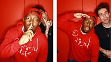 Image for Dizzee Rascal with Nick Grimshaw on the Radio 1 Breakfast Show