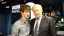 Image for Nick Hewer From The Apprentice Tries To Get A Job On Radio 1