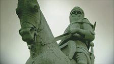 Image for Bruce victorious at Bannockburn, 1314
