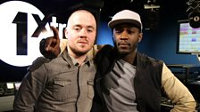 Image for Maverick Sabre on the 1Xtra Breakfast Show with Twin B