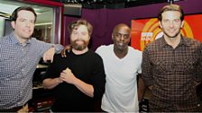 Image for The Hangover 3 Cast with Trevor Nelson