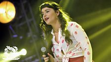 Jessie Ware at Radio 1's Big Weekend