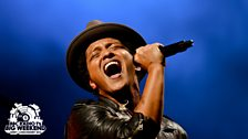 Bruno Mars at Radio 1's Big Weekend