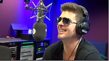 Image for Robin Thicke Chats To Greg