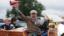 Chris Evans at CarFest