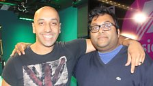 Image for 2012 finalist Sunil Patel guests on the BBC Asian Network