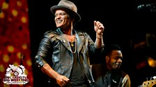 Image for Bruno Mars - Radio 1's Big Weekend highlights
