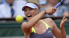 Image for Women tennis players grunting loudly