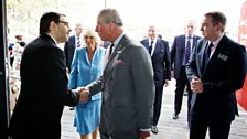 HRH Prince Charles meets Danny Cohen (Director, BBC Television).