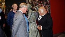 HRH Prince Charles meets Strax – aka Dan Starkey!