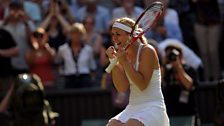 Image for Commentary of the moment Lisicki reaches the final