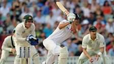 Image for The Ashes: Alastair Cook out for 30