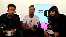 Image for Rizzle Kicks Talk Roaring 20s With Jameela Jamil