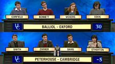 Image for Balliol, Oxford take on Peterhouse, Cambridge