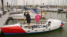 Image for Youngest pair to row the Atlantic?