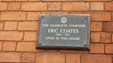 Eric Coates Plaque