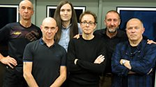 Image for Wire join Marc Riley in the studio