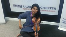 Image for The Big Interview: Violinist Madhu Tanjorkar