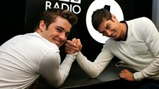 Image for LIVE CAM: Joe McElderry arm wrestles Vernon!