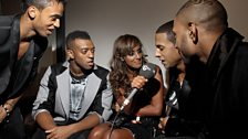 Image for Nelly chats to Max at the 2010 MOBO Awards