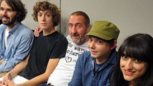 Image for H Hawkline joins Marc Riley in the studio