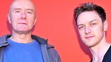 Image for Irvine Welsh and James McAvoy: Celebrity Interview