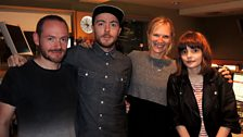 Image for Chvrches live in session for Jo Whiley