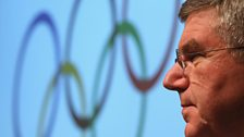 Image for IOC president Thomas Bach on Sochi controversy