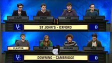 Image for St John's College, Oxford v Downing College, Cambridge