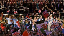 Image for Henry Wood: Rule, Britannia! encore with Olympians - Last Night of the BBC Proms 2012