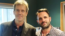 Image for Hugh Laurie catches up with Shaun Keaveny
