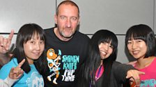 Image for Shonen Knife live in session for Marc Riley