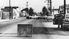 Image for The LA Watts riots, 1965