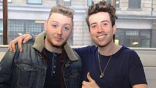 Image for Grimmy Gives James Arthur Celebrity Tips