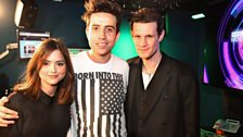 Image for Matt Smith and Jenna-Louise Coleman chat to Grimmy