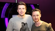 Image for James McAvoy talks about punching Hugh Jackman