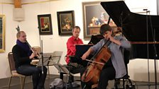 The London Conchord Ensemble plays Brahms' Clarinet Trio Op.114 at  Champs Hill