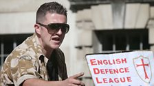 Image for Tommy Robinson EDL resignation