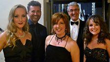 L-R: Abbie Osmon, Graham Bickley, Mary Carewe, Richard Balcombe, Sarah Lark