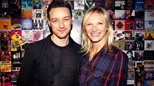 Image for James McAvoy joins Jo Whiley in the studio