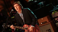 Paul McCartney at 6 Music Live