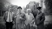 Image for Landmark: The Old Men at the Zoo