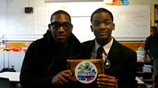 Image for Tinie Tempah Surprises Teen Hero Jeremiah!