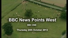 Image for BBC Points West - 24th October 2013