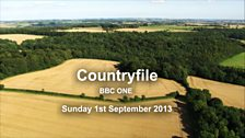 Image for Countryfile - 1st September 2013